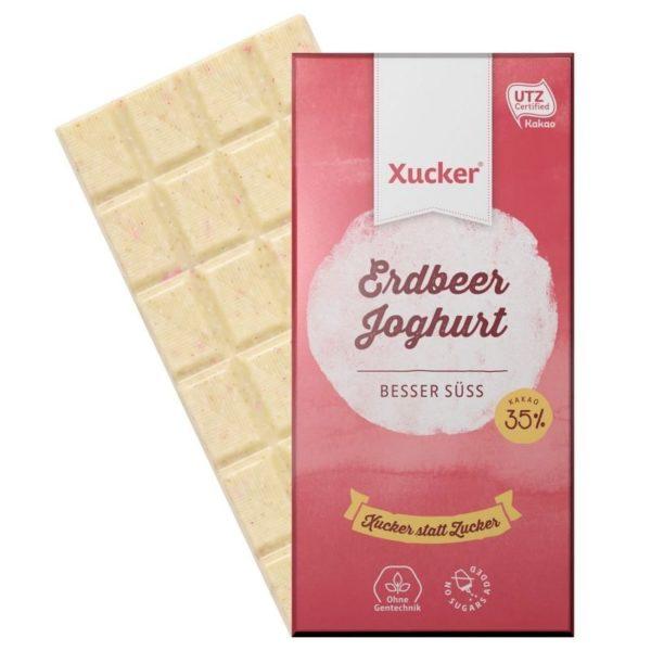 Xucker Erdbeer Joghurt Schokolade