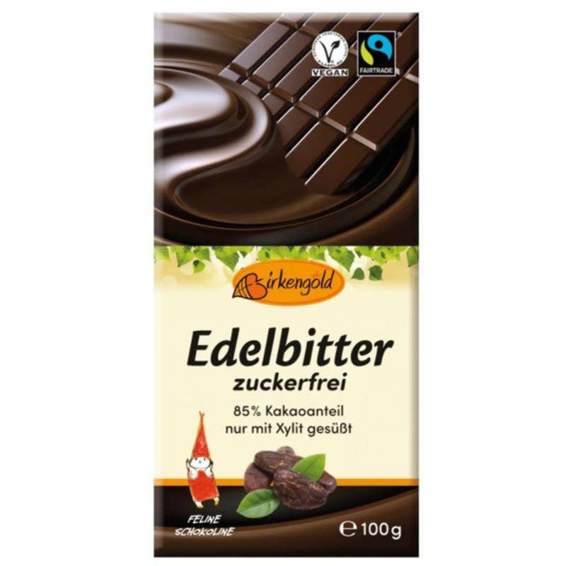 Birkengold zuckerfreie Edelbitterschokolade