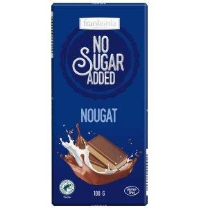 Frankonia Nougat zuckerfreie Tafelschokolade