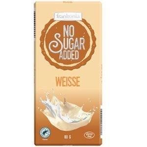 Frankonia Weiße zuckerfrei Tafelschokolade
