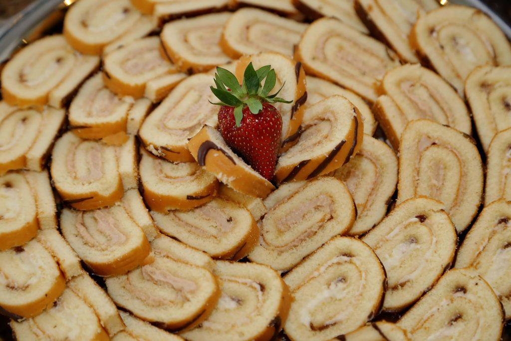 zuckerfreier Kuchen Bisquitroulade