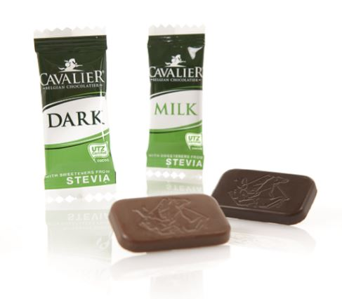 Stevia Neapolitains Milk and Dark
