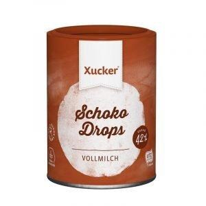 Xucker Schokodrops Vollmilch zuckerfrei