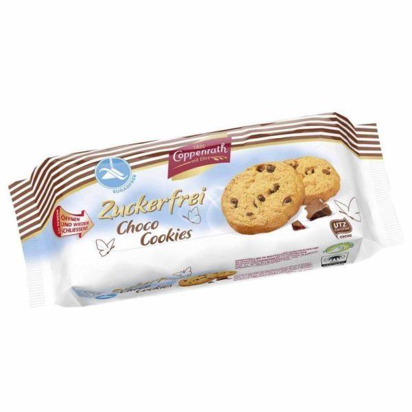 Zuckerfreie Schoko Kekse