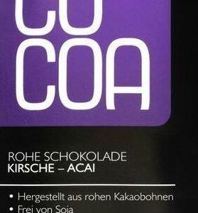 zuckerfreie Schokolade Kirsch Acaj