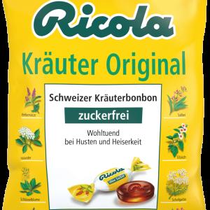 Ricola Kräuter zuckerfrei 75 g