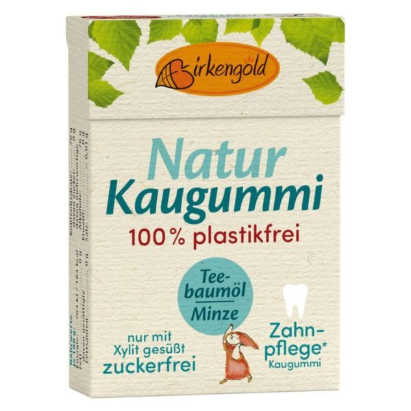Birkengold Kaugummi Teebaumöl