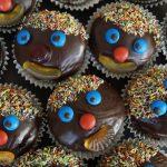 Zuckerfreie glasierte Muffins