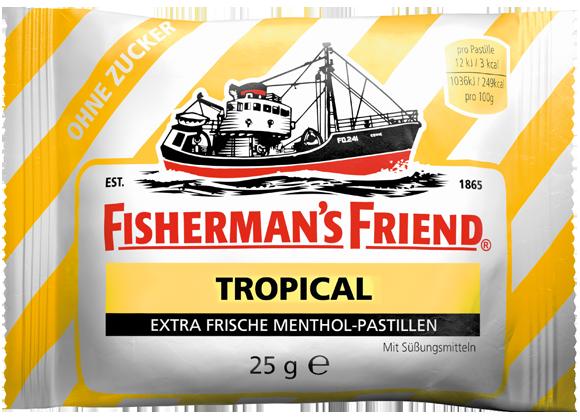 Fishermans Friend Tropical Pastillen