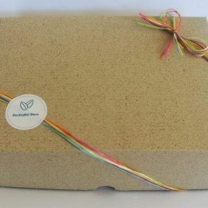 Geschenkbox für zuckerfreie Geschenke