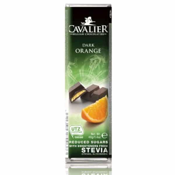 Cavalier zuckerfreier Dark Orange Riegel