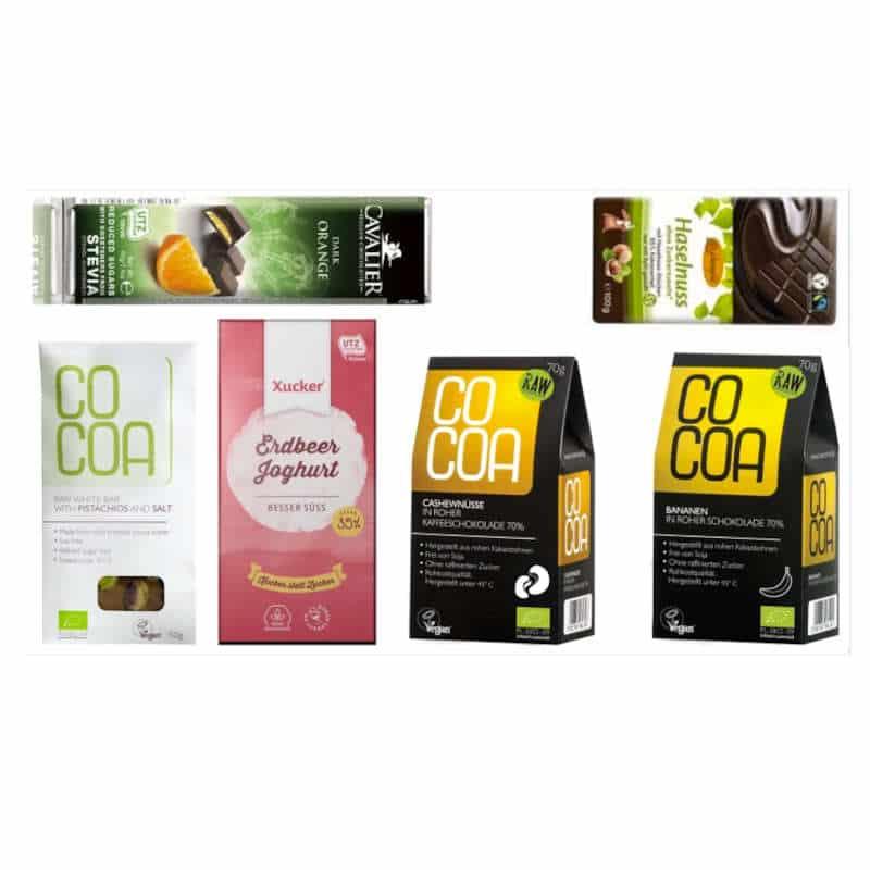 Zuckerfreie Nuss Frucht Box