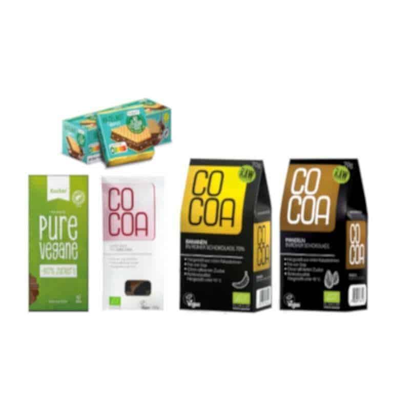 Vegane zuckerfreie Box