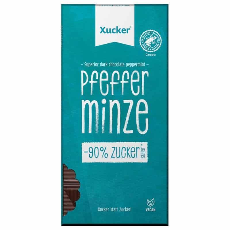 Xucker zuckerfreie Pfefferminzschokolade