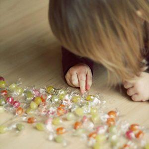 Kind zuckerfreie Bonbons