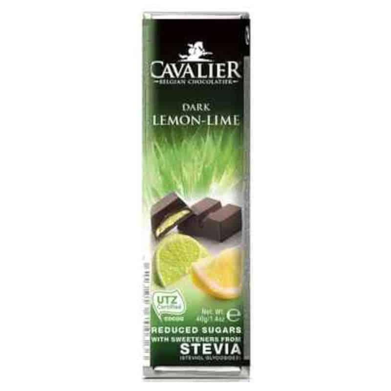 zuckerfreier Cavalier Zartbitter Zitrone Riegel