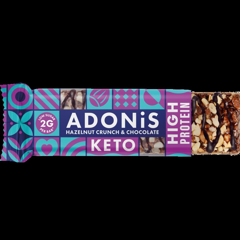 Adonis zuckerfrei Haselnuss Crunch_bar