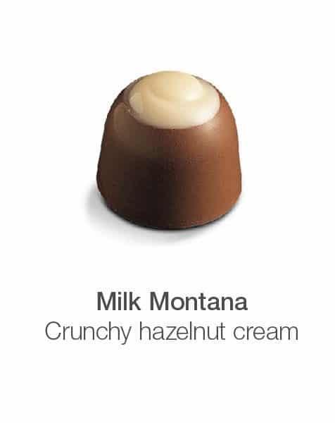 milk montana zuckerfreie Schokoladenpraline cavalier maltitol