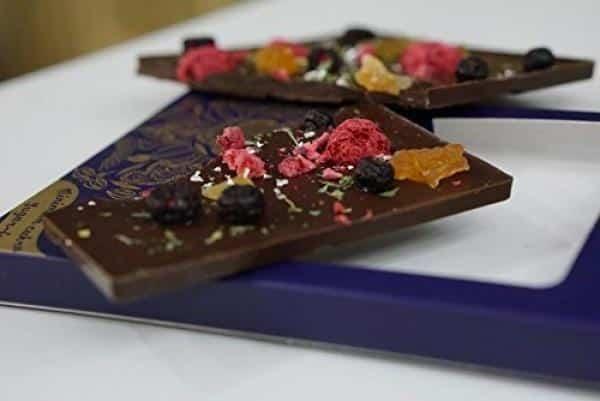 Steiner und Kovarik zuckerfreie Schokolade Mandala Weisheit Set